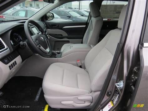 Toyota Highlander Interior Colors 2017 predawn gray mica toyota highlander le 117630118 photo 9 gtcarlot car color galleries