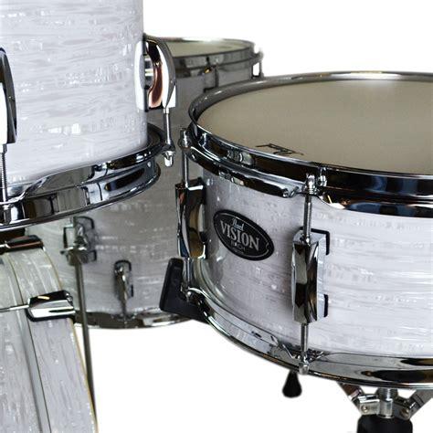 Drum White No Brand 18 pearl vision birch vbl 4 drum set 18 quot bass 12 14