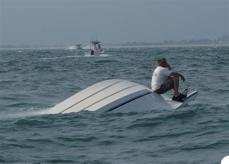 catamaran boat accident capsized boat the hull truth boating and fishing forum