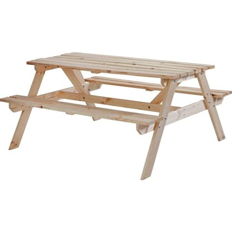 pine picnic bench buy natural pine picnic bench at argos co uk your online