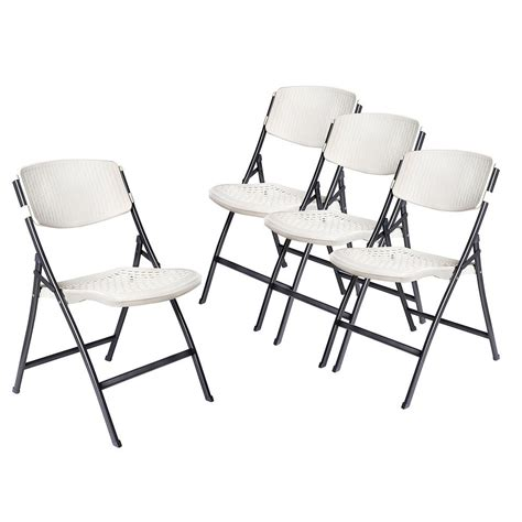 hdx white folding chair set   chr   home depot