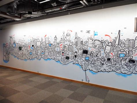 The Office Mural by Office Murals On Behance