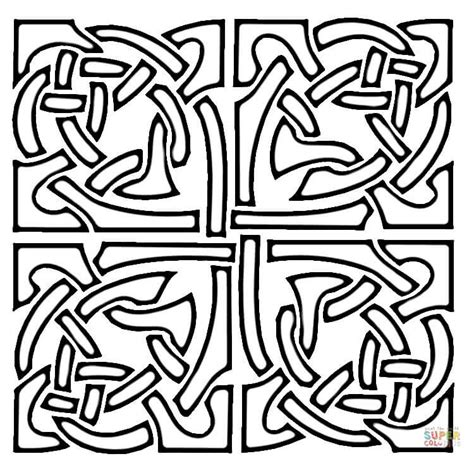 coloring pages of celtic designs celtic designs coloring page free printable coloring pages
