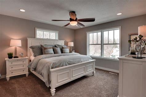 sherwin williams requisite gray walls   bedroom