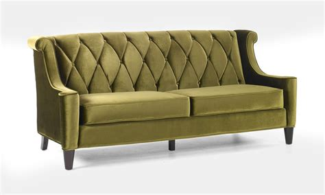 al sofa armen living barrister sofa green velvet al lc8443green at