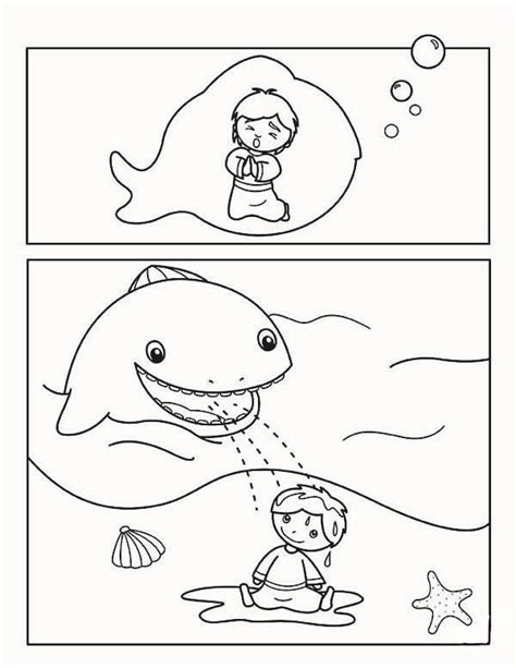 jonah preschool coloring pages story jonah and the whale for kids coloring page trinity