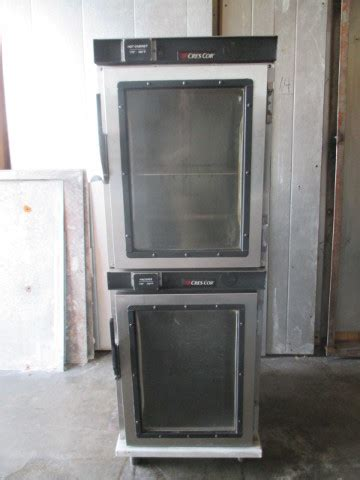 crescor double stack proofer hot box holding warming
