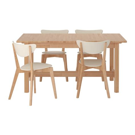 table 4 chaises ikea norden nordmyra table and 4 chairs ikea