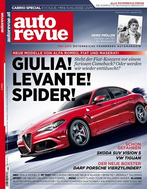 Auto Revue by Autorevue Magazin Mai 2016 Autorevue At
