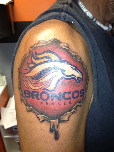 broncos tattoos pictures 36 best denver broncos s images on
