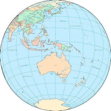 australia globe map australia globe mapsof net