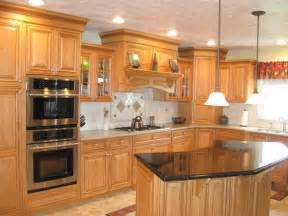 Cherry Kitchen Cabinets With Granite Countertops Cabinets