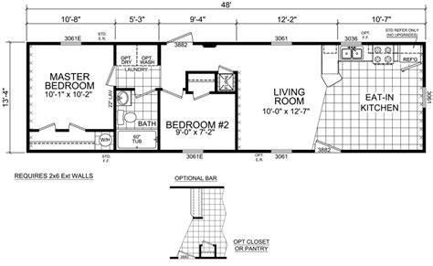crown homes floor plans single wide mobile home floor plans michigan