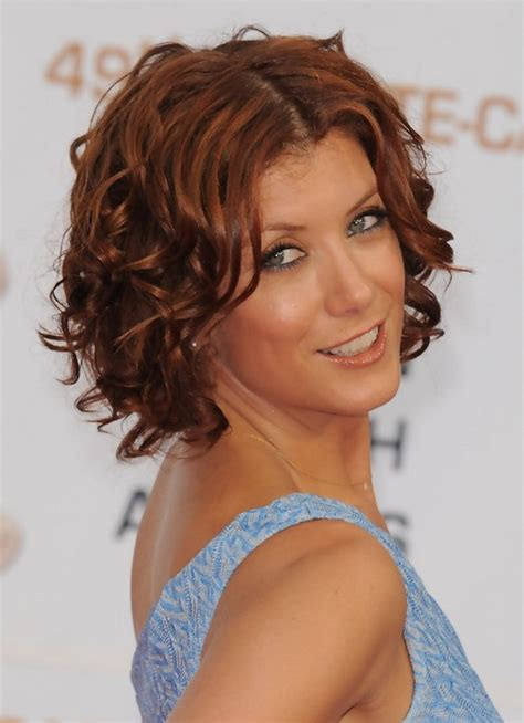 short hairstyles for women over 50 for brown hair and highlights kate walsh hairstyles short brown curly hairstyle for
