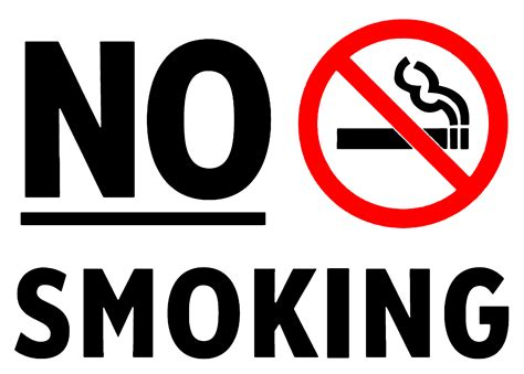 no smoking sign in word five ways to be arrested in an amusement park great