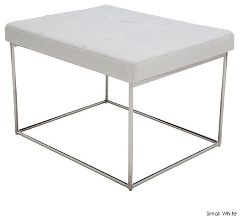 white indoor bench caen bench white small modern indoor benches by inmod