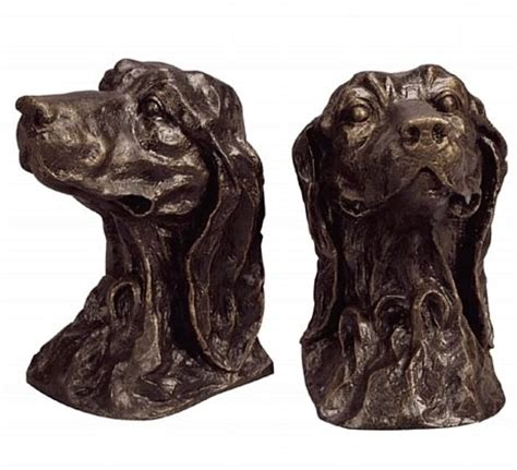 golden retriever bookends cast iron golden retriever bookends large