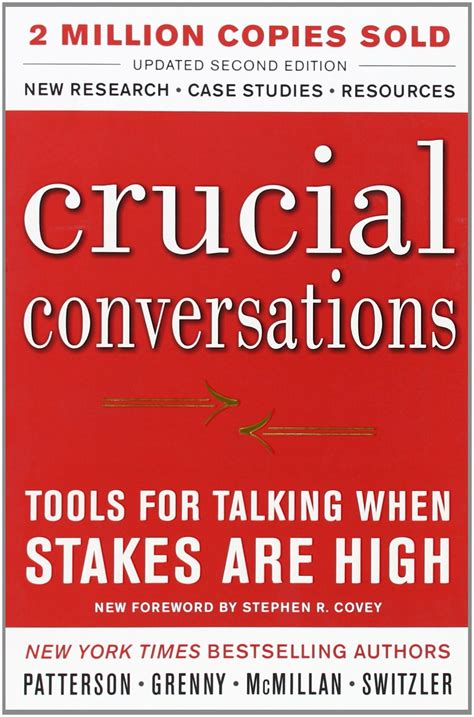 the talking part is books yours productly crucial conversations tools for