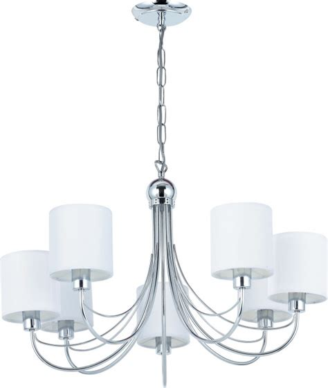 lighting australia figaro 7 light chrome pendant