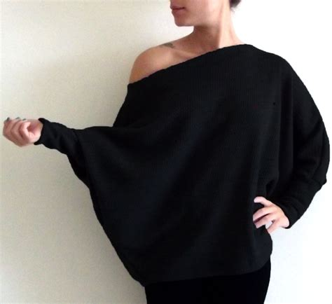 40363 Black Offshoulder Size S s plus size cardigan sweaters sweater