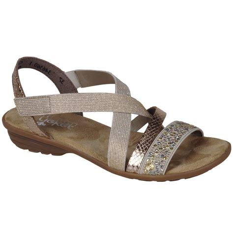 reiker sandals rieker copper womens casual sandals charles clinkard