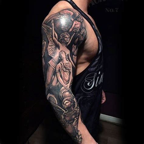 religious tattoo designs for men arms 100 religious tattoos for sacred design ideas