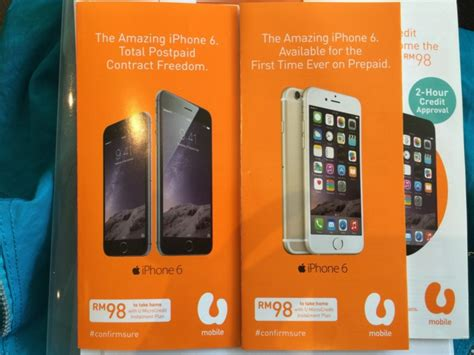 iphone u mobile package u mobile now offering iphone 6 and 6 plus with truly unlimited data plans lowyat net