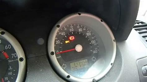 reset vw polo  service insp sign youtube