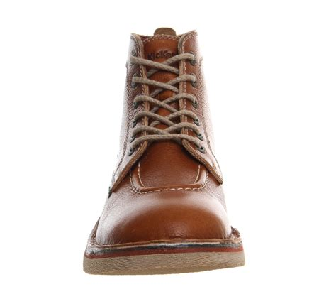 Kickers Casual Armani Brown kickers legendary boots in brown for lyst
