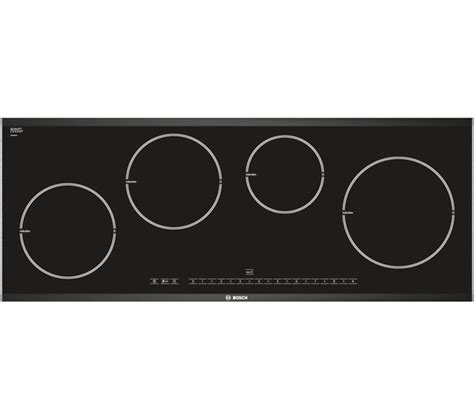 induction hob bosch buy bosch logixx pie975n14e induction hob black free delivery currys