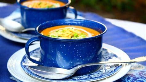 potage de carotte au cari et lait de coco