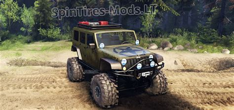 2014 Jeep Wrangler Mods Jeep Wrangler Unlimited Sid Spintires Mods
