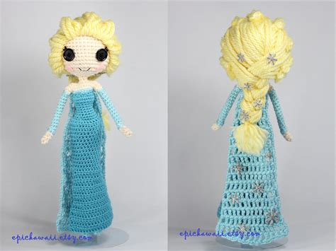 amigurumi elsa pattern free snow queen elsa disney s frozen crochet amigurumi by