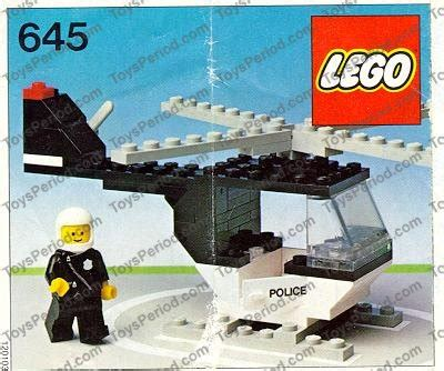 P L Helikopter Set lego 645 1 helicopter set parts inventory and