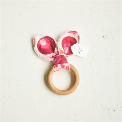Teether Rattle Iq Baby wood teething ring some day teething toys