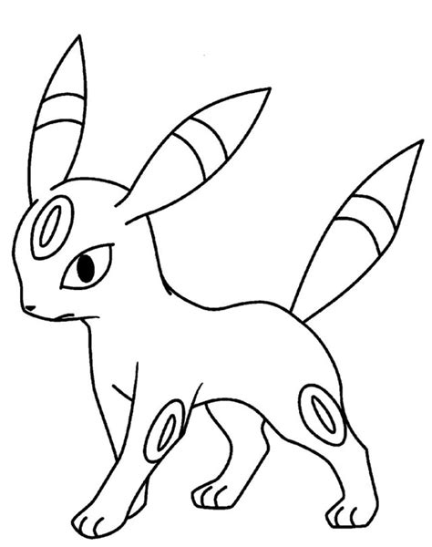 pokemon coloring pages espeon espeon coloring pages az coloring pages
