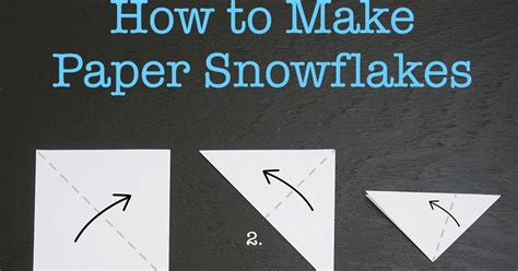 How To Make Snowflake From Paper - craftiments how to make paper snowflakes