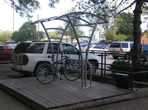 Covered Bike Rack by 301 Moved Permanently