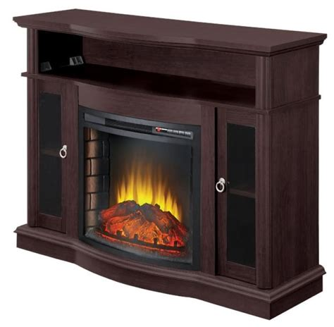 electric fireplace media centers comfort glow ef7525rkd beckonridge electric fireplace