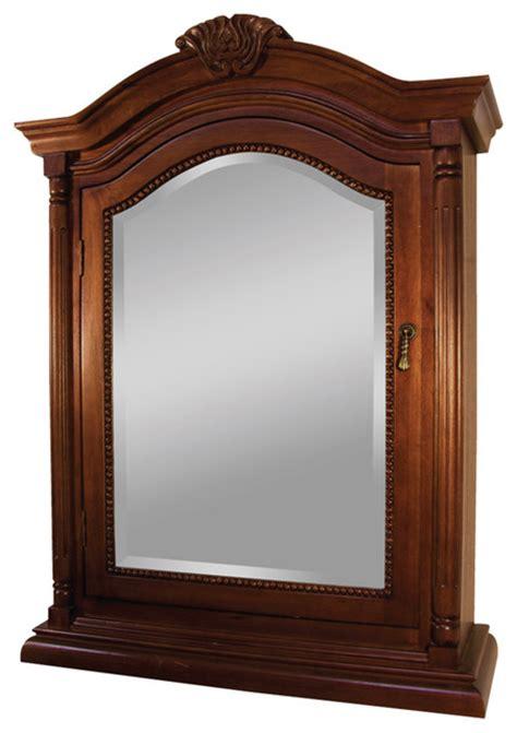 Wingate Rich Cherry Bathroom Medicine Cabinet   Victorian