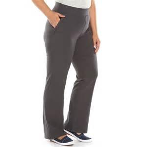 Pants plus size sonoma life style flare yoga pants women s size 1x