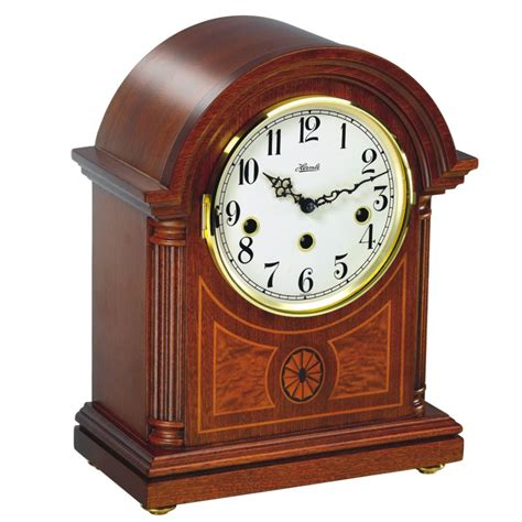 mantle clocks hermle traditional arched mantle clock 22827 070340
