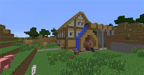 farm house minecraft minecraft farm house water mill minecraft project