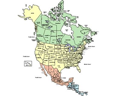 map of canada usa and mexico derietlandenexposities