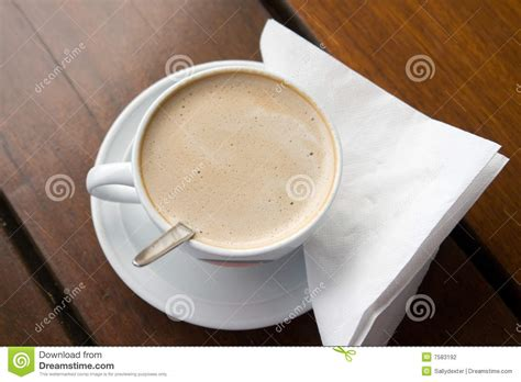 Mr Acrysion Water Based N11 Flat White Mr Hobby flat white coffee on table stock photography image 7583192