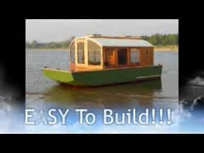 Cheap To Build House Plans cheap houseboat you can build dianne s rose youtube
