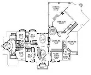 Floor Plan Versailles by Versailles 4525 9 Bedrooms And 8 Baths The House Designers