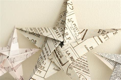 How To Make An Origami 5 Pointed - folding 5 pointed origami ornaments