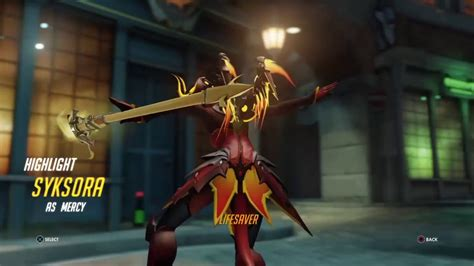 new year 2015 china highlights overwatch mercy new year highlights intro