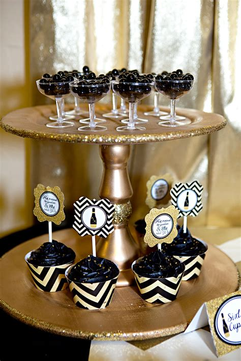 bridal shower decoration ideas black and white black and gold bridal shower lillian designs